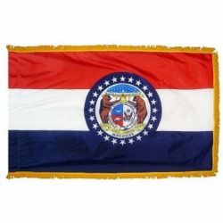 4' X 6' Nylon Indoor/Parade Missouri State Flag