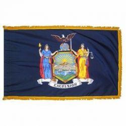 4' X 6' Nylon Indoor/Parade New York State Flag