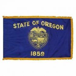 4' X 6' Nylon Indoor/Parade Oregon State Flag