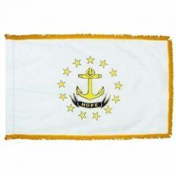 4' X 6' Nylon Indoor/Parade Rhode Island State Flag