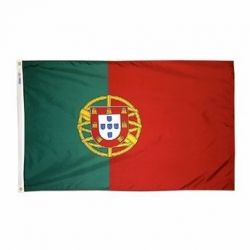 Nylon Portugal Flag - 4 ft X 6 ft
