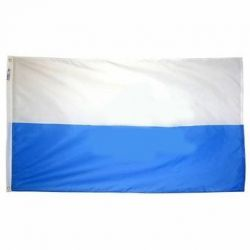 Nylon San Marino Flag - 4 ft X 6 ft