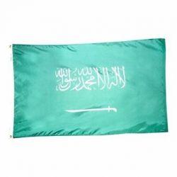 Nylon Saudi Arabia Flag - 4 ft X 6 ft