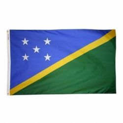Nylon Solomon Islands Flag - 4 ft X 6 ft