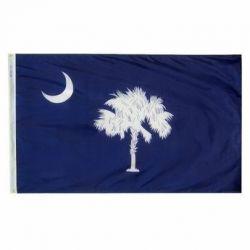 Nylon South Carolina State Flag - 4 ft X 6 ft
