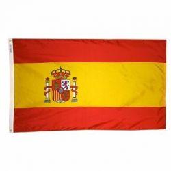 Nylon Spain Flag - 4 ft X 6 ft
