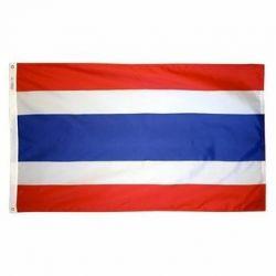 Nylon Thailand Flag - 4 ft X 6 ft