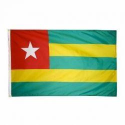 Nylon Togo Flag - 4 ft X 6 ft
