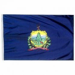 Nylon Vermont State Flag - 4 ft X 6 ft