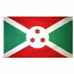 Nylon Burundi Flag - 5 ft X 8 ft