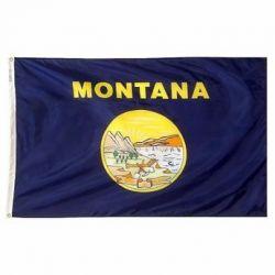 Nylon Montana State Flag - 5 ft X 8 ft
