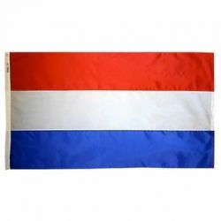 Nylon Netherlands Flag - 5 ft X 8 ft