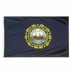 Nylon New Hampshire State Flag - 5 ft X 8 ft