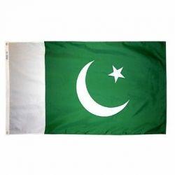 Nylon Pakistan Flag - 5 ft X 8 ft