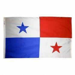 Nylon Panama Flag - 5 ft X 8 ft
