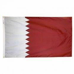 Nylon Qatar Flag - 5 ft X 8 ft