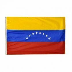 Nylon Venezuela Flag - 5 ft X 8 ft