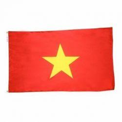 Nylon Vietnam Flag - 5 ft X 8 ft