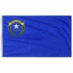Nylon Nevada State Flag - 6 ft X 10 ft