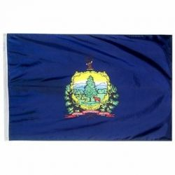 Nylon Vermont State Flag - 12 in X 18 in