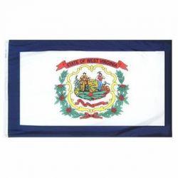 Nylon West Virginia State Flag - 6 ft X 10 ft