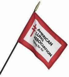 Custom Stick Flags - 8 in X 12 in