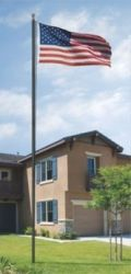 All American Series 18' In-Ground Flagpole