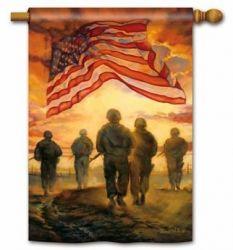 American Heroes Standard Flag