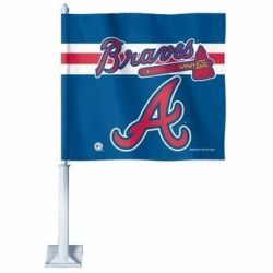 Atlanta Braves - Car Flag