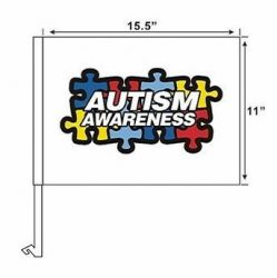 Autism Awareness - Car Flag