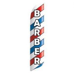 Barber Blade Flag