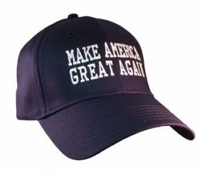 Blue Trump Make America Great Again Hat