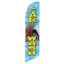 Car Wash Blade Flag