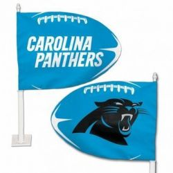 Carolina Panthers - Car Flag