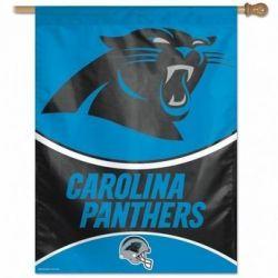 Carolina Panthers Vertical Flag