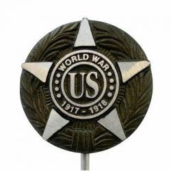 Cast Aluminum WWI Veteran Grave Marker
