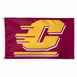 Central Michigan University Flag - 3 ft X 5 ft