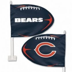 Chicago Bears - Car Flag