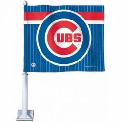 Chicago Cubs - Car Flag