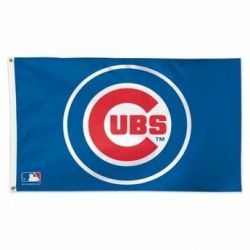 Deluxe Chicago Cubs Flag - 3 ft X 5 ft