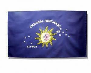 Conch Republic/Key West Flag