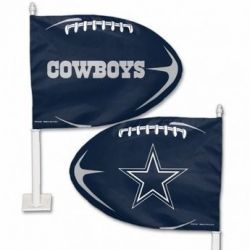 Dallas Cowboys - Car Flag