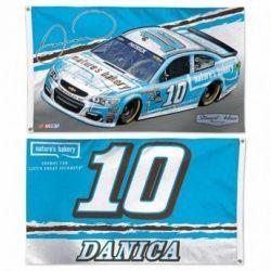 Danica Patrick Two-Sided NASCAR Flag