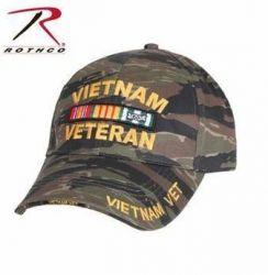 Deluxe Low Profile Vietnam Veteran Tiger Stripe Cap