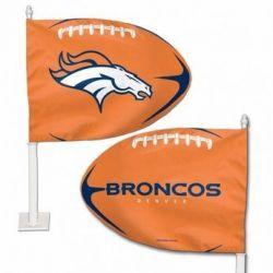 Denver Broncos - Car Flag