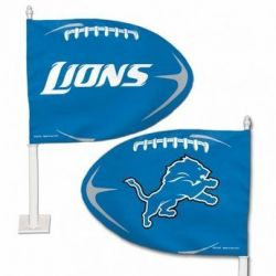 Detroit Lions - Car Flag