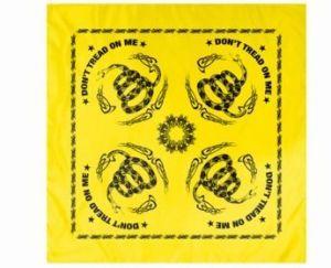 Don't Tread on Me Bandana - Yellow