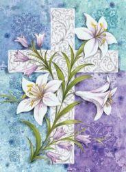 Easter Lilies Garden Flag