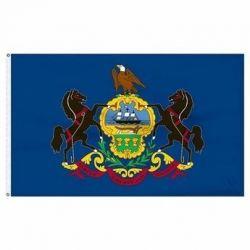 Economy Printed Pennsylvania State Flag