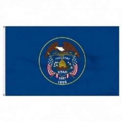 Economy Printed Utah State Flags